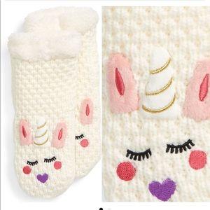 Tucker + Tate NWT Critter Appliqué Slipper sock